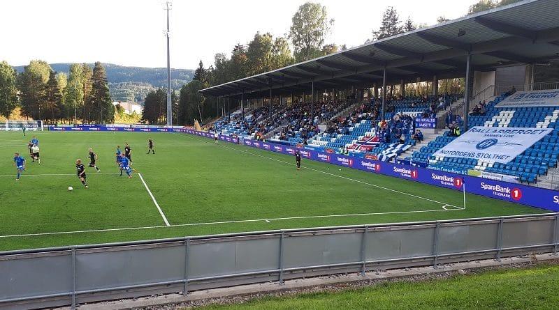 Notodden FK - FK Jerv 0-2 Notodden Idrettspark 26. august 2018