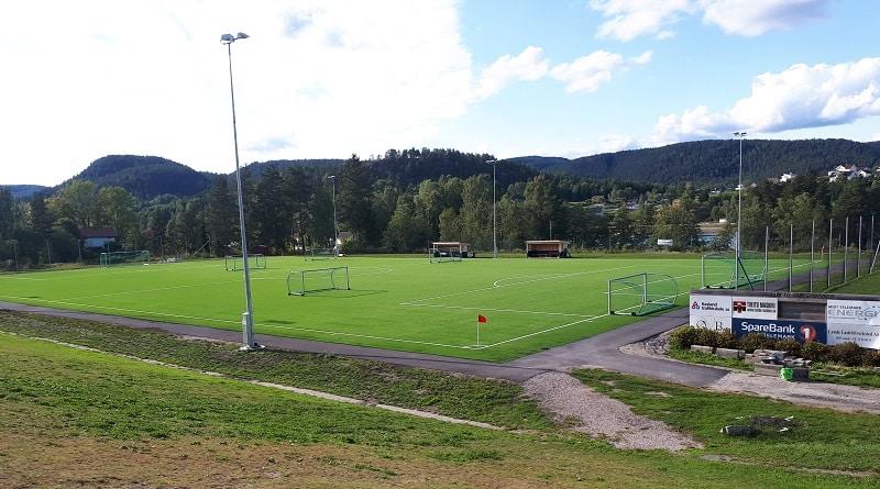Lunde Idrettspark - Skade IL