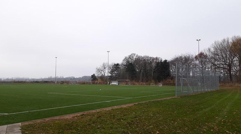 Klintsøgaard Efterskole kunstgræs Nykøbing Sjælland- Idrætsefterskolen Klintsøgaard
