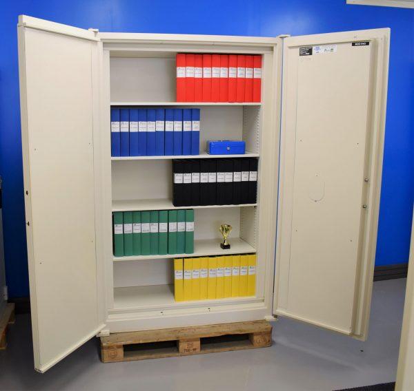 Begagnat Hadak dokumentskåp 940 med öppen dörr