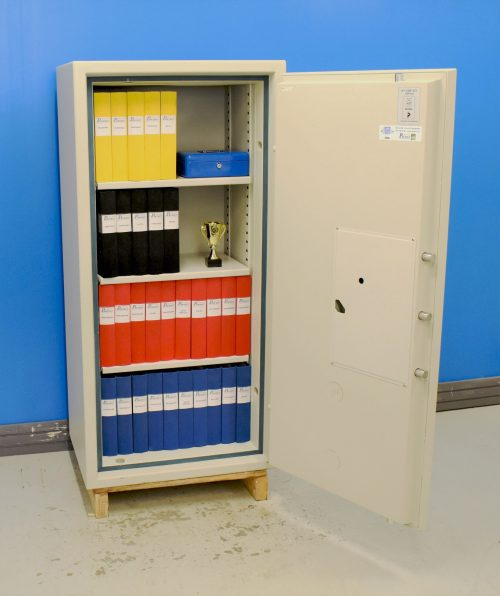 Begagnat Rosengren dokumentskåp MultiDoc med öppen dörr