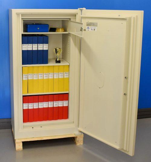 Begagnat dokumentskåp Rosengren RDC 120 med öppen dörr