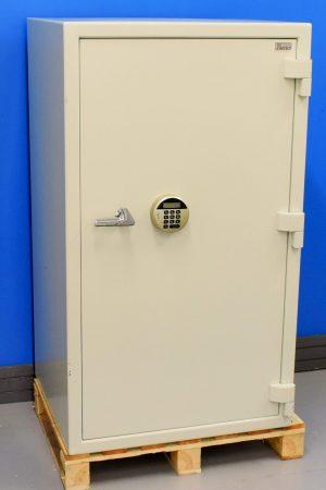 Begagnat dokumentskåp Topsafe ES 200 med stängd dörr