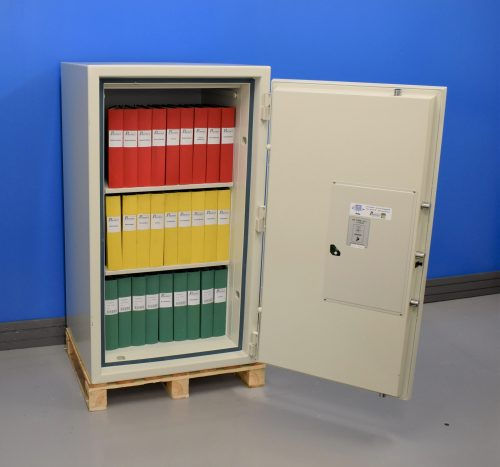 Begagnat dokumentskåp Topsafe ES 200 med öppen dörr