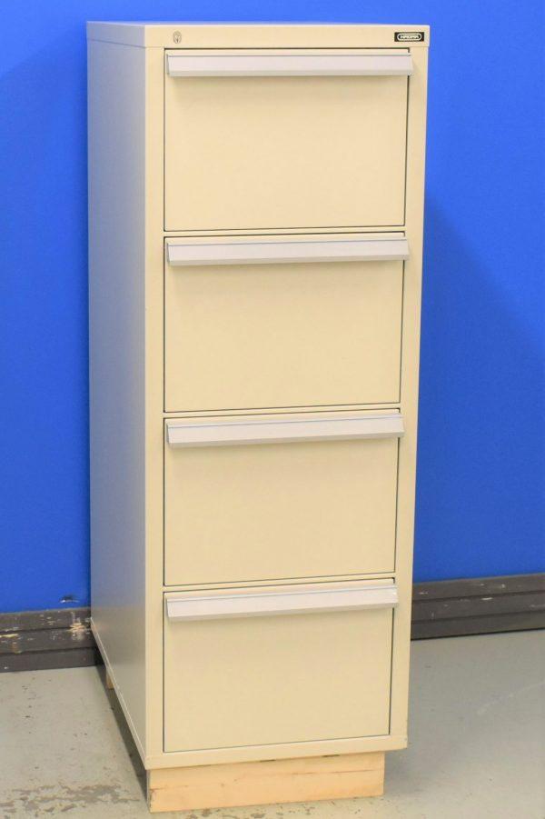 Begagnat-hangmappskap-Hadak-vertical-4lador-90p-med-stangda-lador