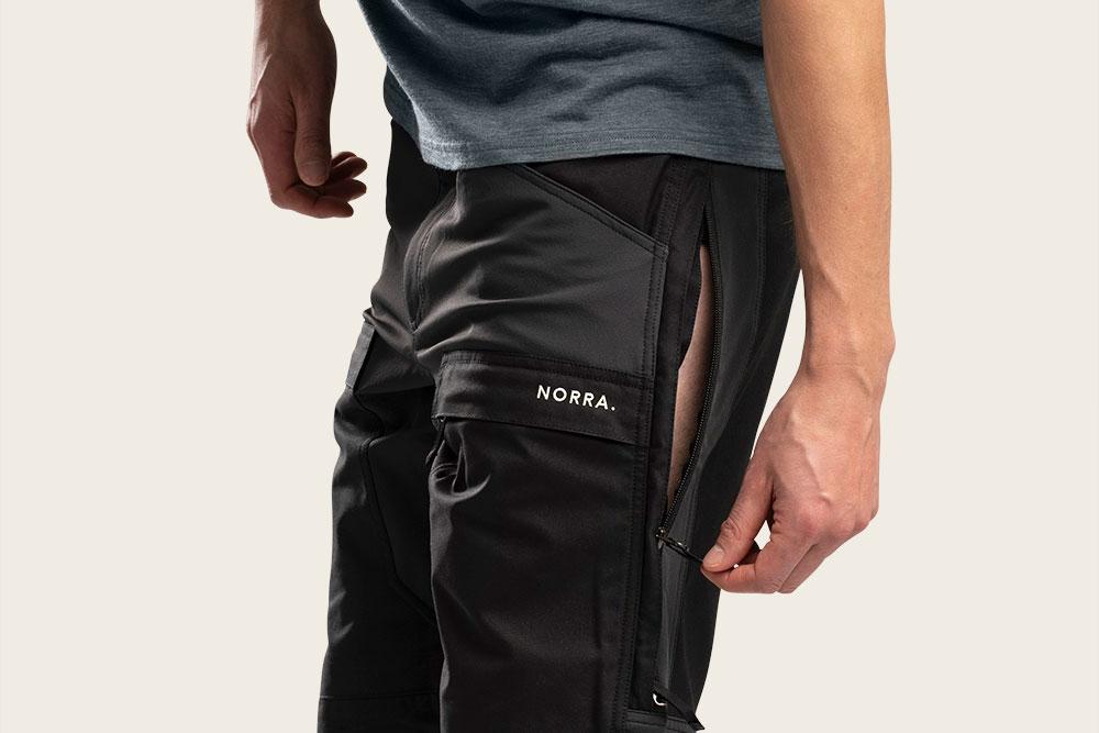 ventilation zipper