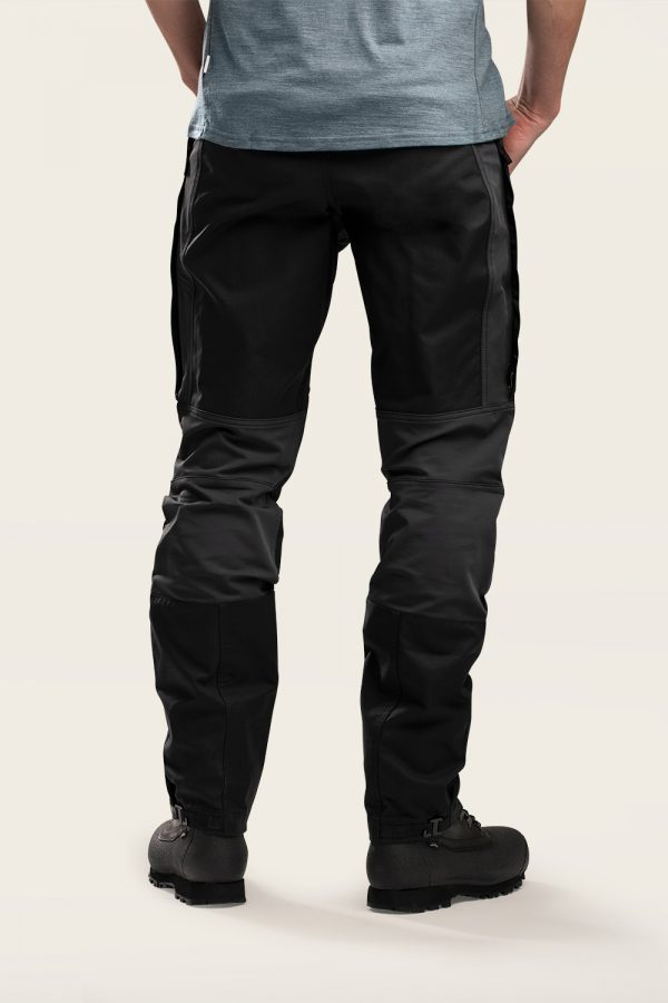 Norra Ljung Outdoor Pants Men back view