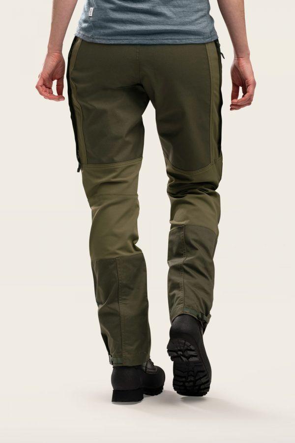 Norra Ljung Outdoor Pants Women back view
