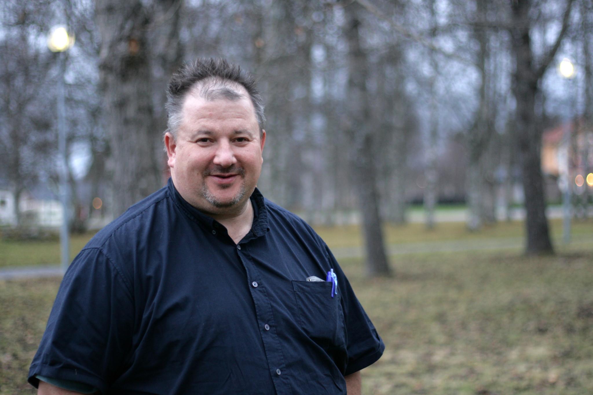 verksamhetsledare Roger Albertsson