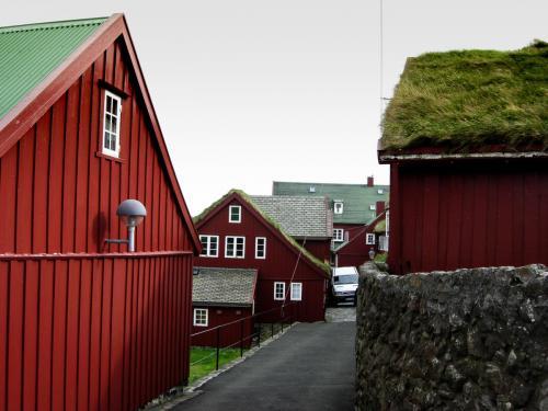 Tinganes. Færøerne.
