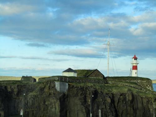 Thorshavn. Skansinn.