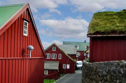 Tinganes i Thorshavn