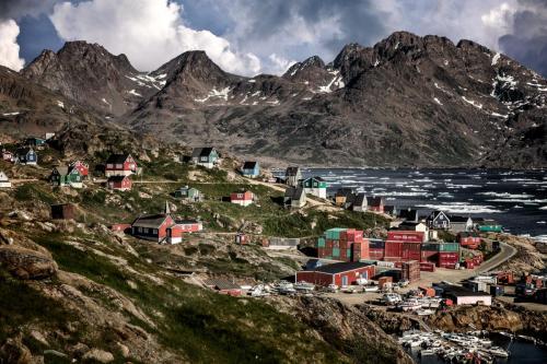 Kulusk. En lille bygd i Østgrønland