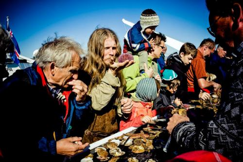 Viking Sushi på Breiðafjörður