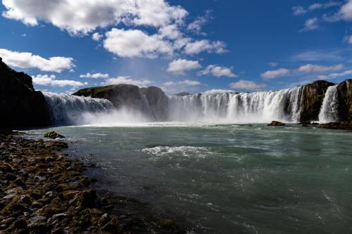Goðafoss i Nordisland