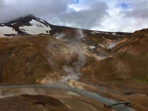 Geotermisk område i Hveradalir