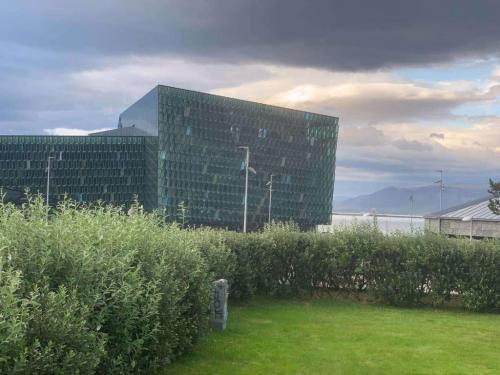 Koncerthuset Harpa i Reykjavik.