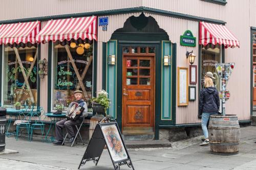 Laugavegur i Reykjavik