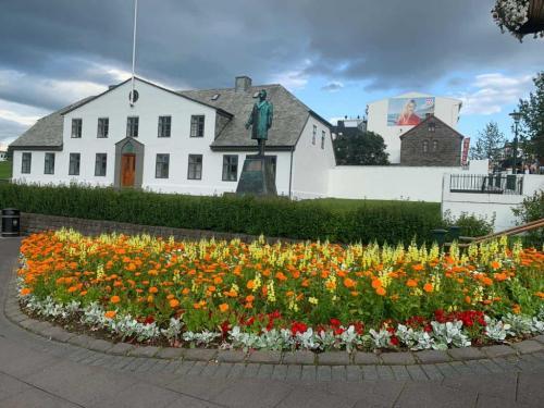 Islands statsministerium i Reykjavik.