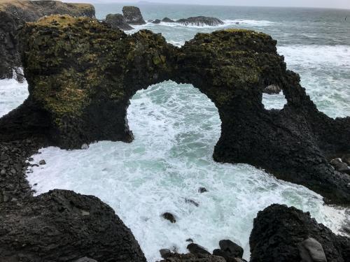 Gatklettur på Snæfellsnes