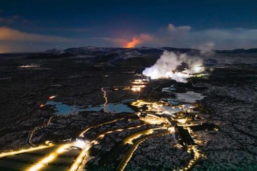 Blue Lagoon og vulkanudbrud