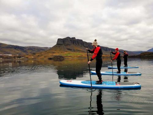 SUP på fjorden