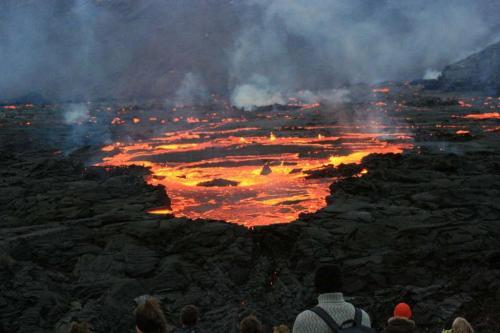 Vulkanudbrud i Geldingadalir