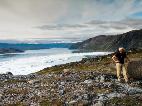 Qooroq isfjorden i Sydgrønland