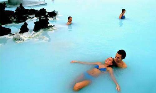 Den Blå Lagune er verdensberømt.