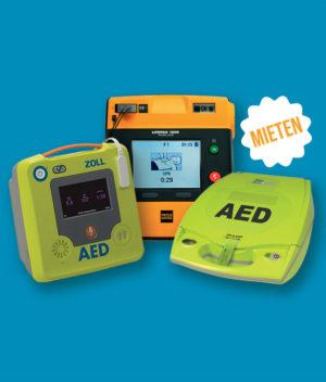 Vermietung Defibrillatoren