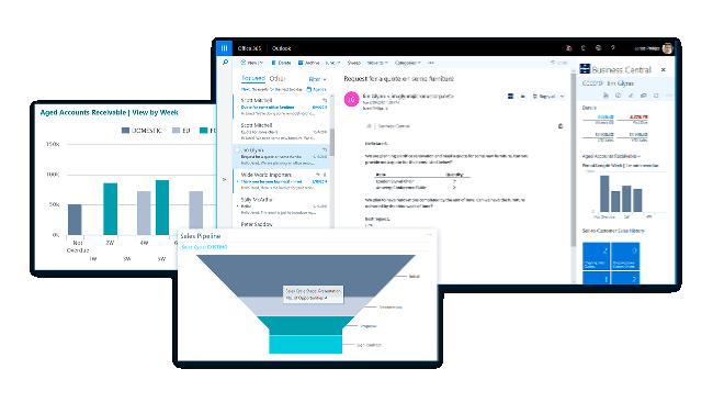 Boost salget og oprethold jeres gode service med Microsoft Dynamics 365 Business Central