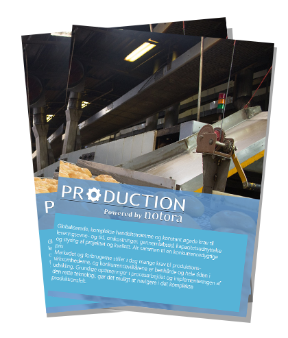 Production powered by Notora brochure