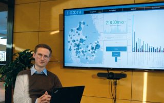 Kristian Hedegaard Power BI udvikler i Notora