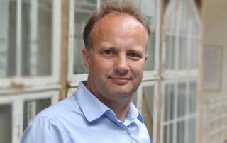 (Økonomidirektør i Notora, Michael Lauridsen. Foto: Andrea Bjørnvig)