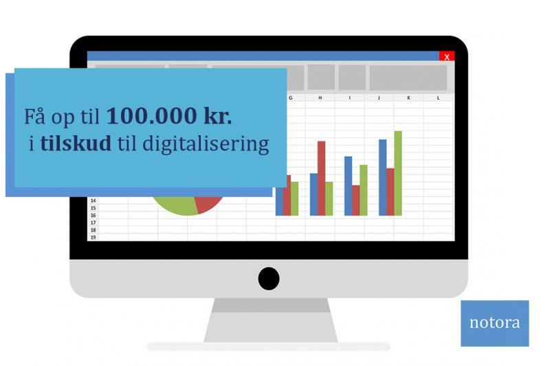 SMV: Få op til 100.000 kr. i tilskud til digitalisering