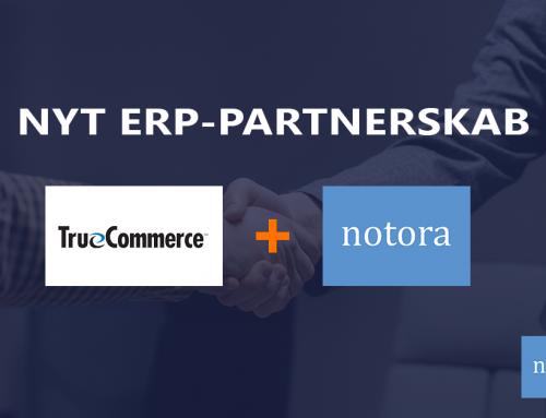 Notora bliver ERP-partner med brancheeksperterne fra TrueCommerce