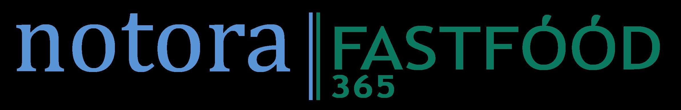 Notora | Fastfood logo