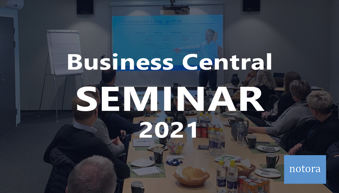 Business Central seminar