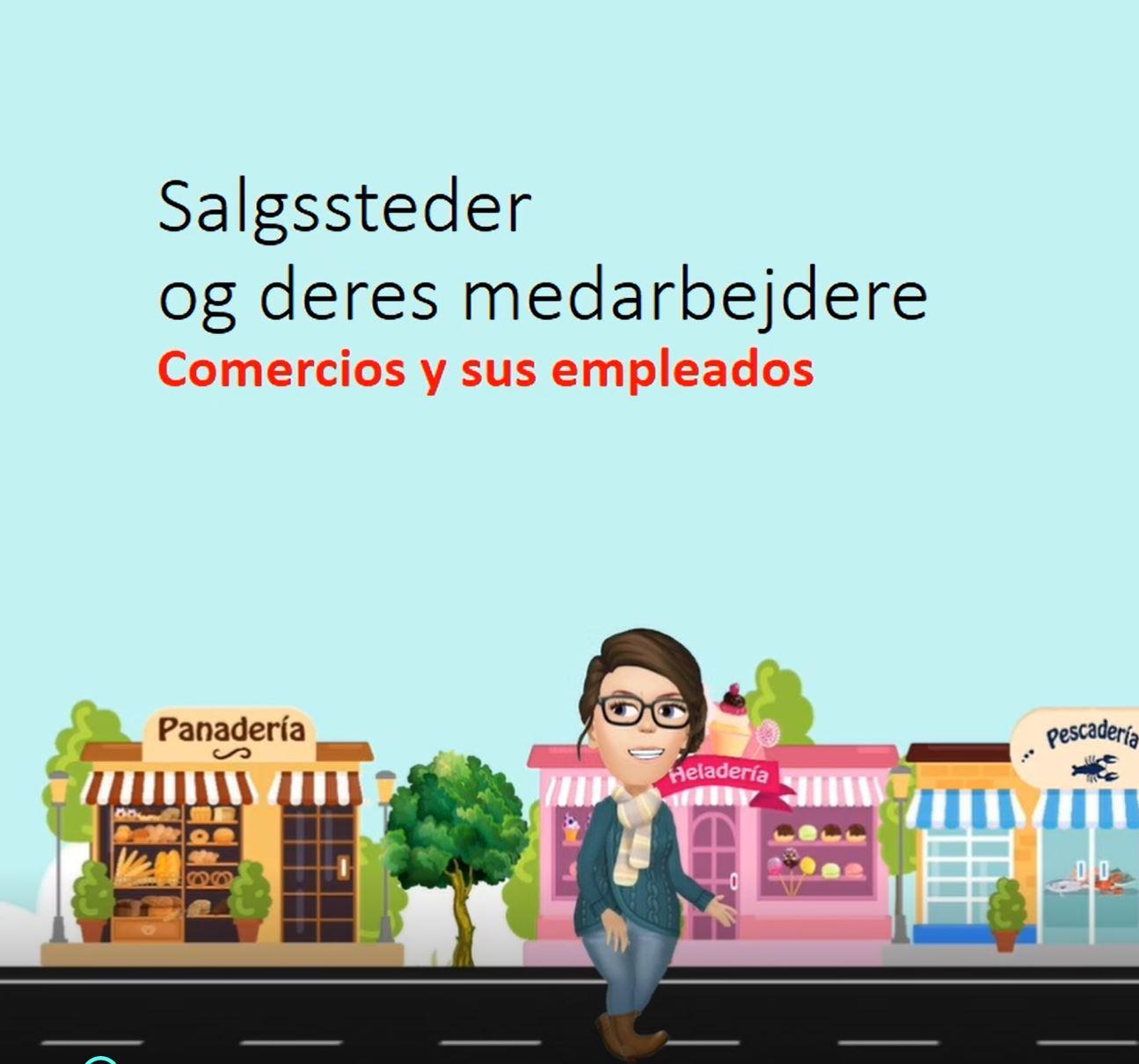 Butikker og salgssteder