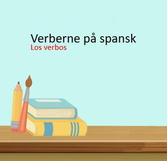 Produktbillede – verberne på spansk