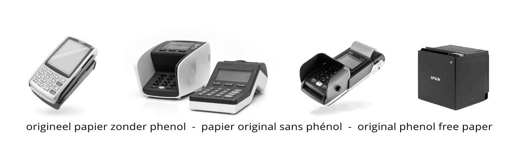 origineel papier zonder phenol