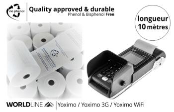 NPpaper label de Qualité   Terminal de Paiement Worldline Yoximo