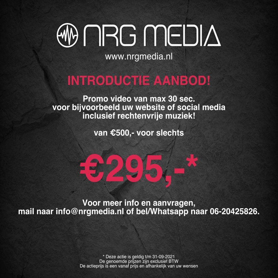 Promo Video Introductie korting NRG Media