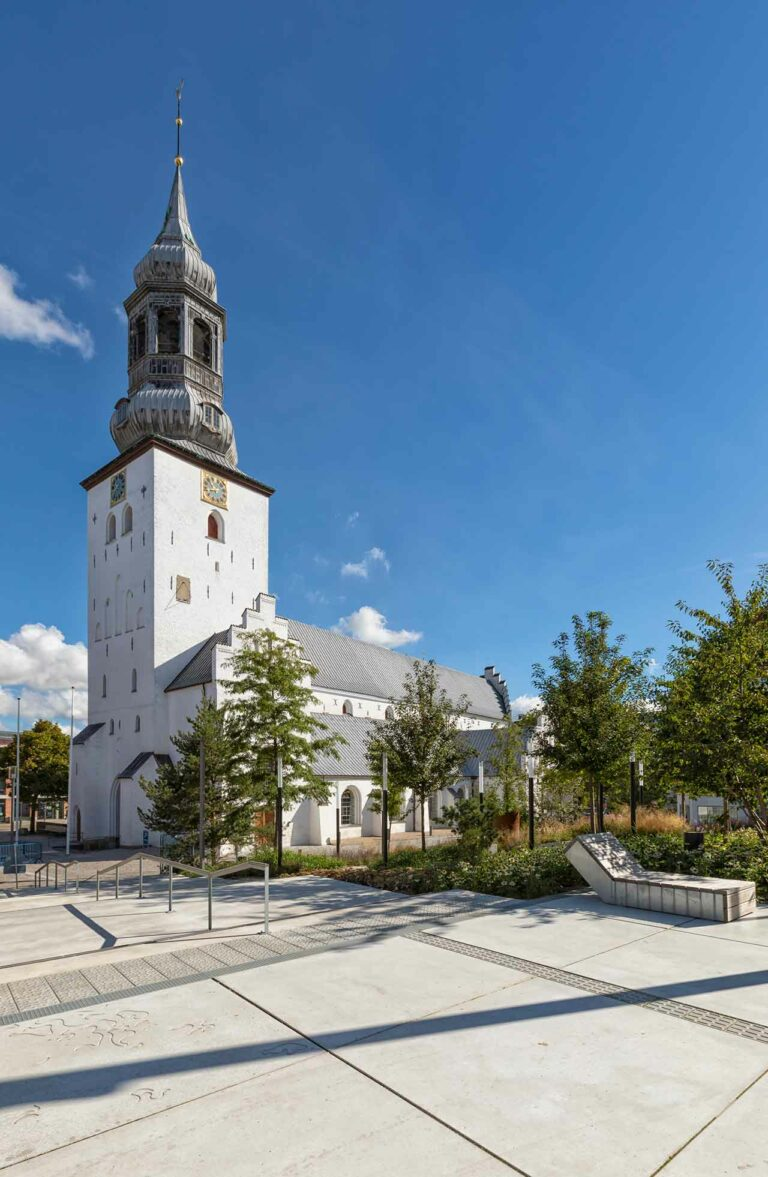 The Budolfi church, Lutheran cathedral of Aalborg, Denmark