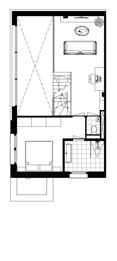 Architect Den Haag-kavelwoning-Kijkduin ontwerp-01
