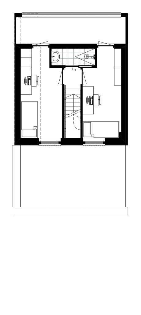 Architect Den Haag-kavelwoning-Kijkduin ontwerp-02