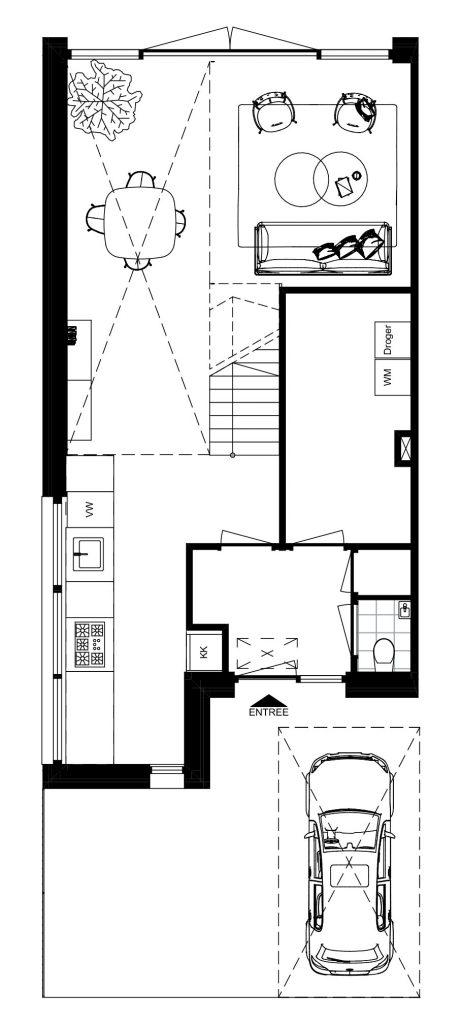 Architect Den Haag-kavelwoning-Kijkduin ontwerp-BG