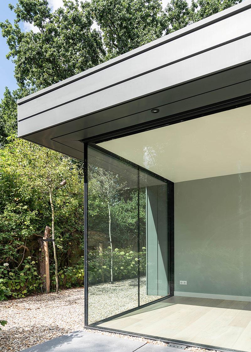 Nugter Architectuur Uitbouw modern