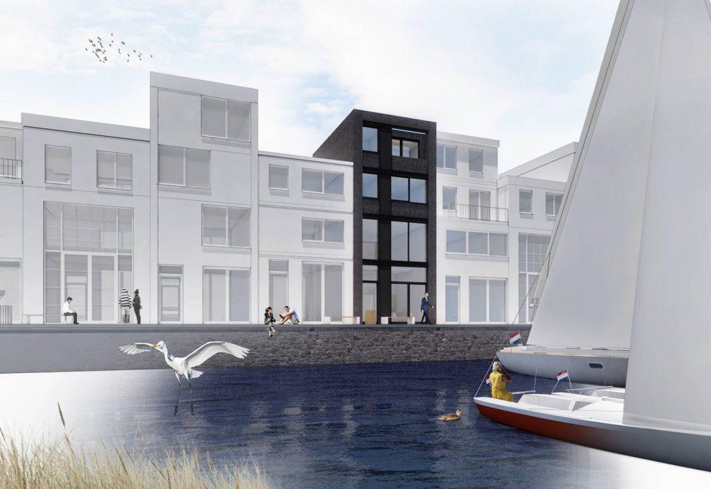 Architect Den Haag Petroleumhaven zelfbouw