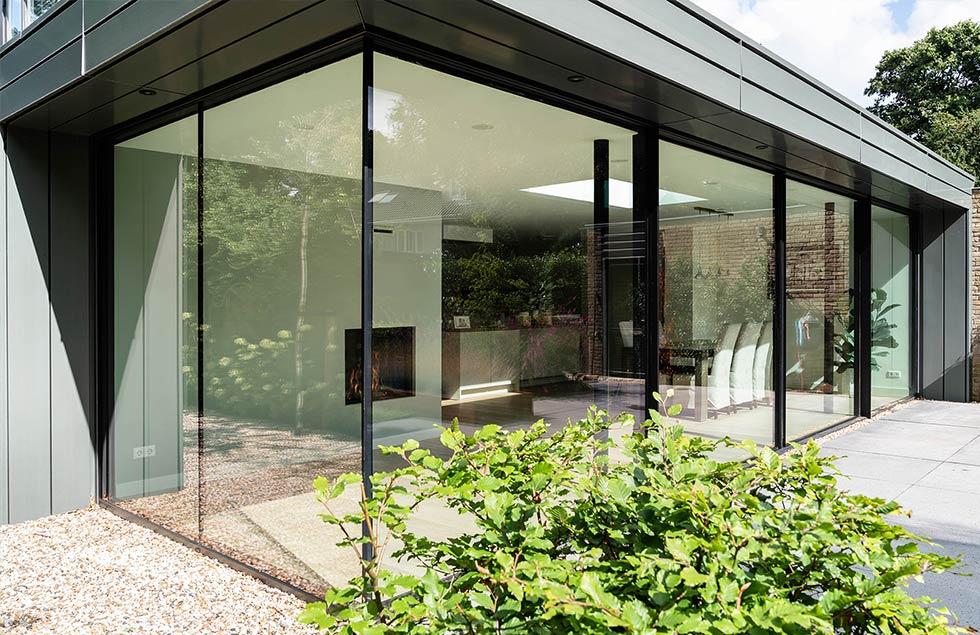 Nugter Architectuur Renovatie en uitbouw Voorschoten